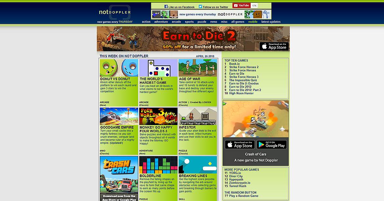 Notdoppler Games List